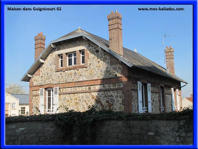 Le village de guignicourt dans l 39 aisne 02190 for Maison guignicourt