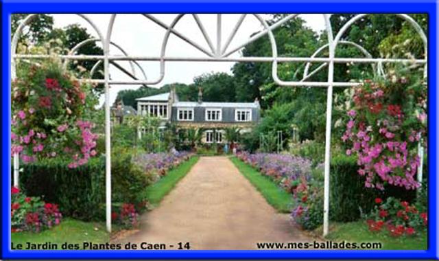 le jardin des plantes et le jardin botanique veritable muse vgtal avec sa flore normande mdicinale ses serres exotiques dcouvrir - Jardin Des Plantes Caen