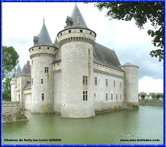 Sully Sur Loire Chateau le Château de Sully-sur-loire