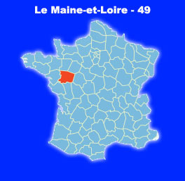 carte de france 49