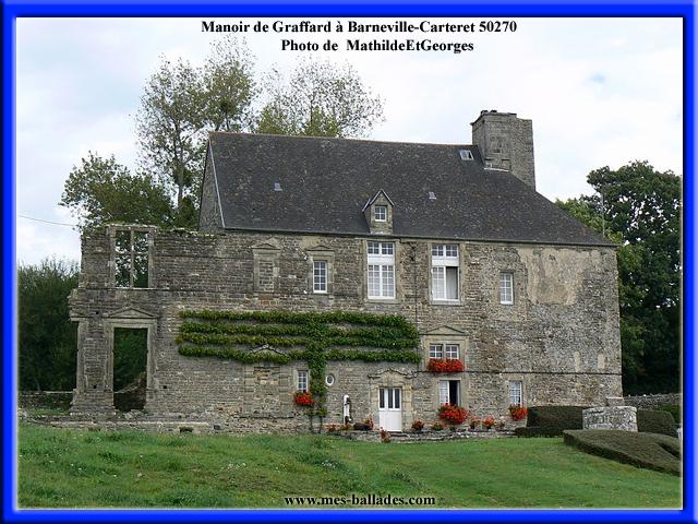 Les plus beaux manoirs dans la manche 50 - Office du tourisme de barneville carteret 50 ...