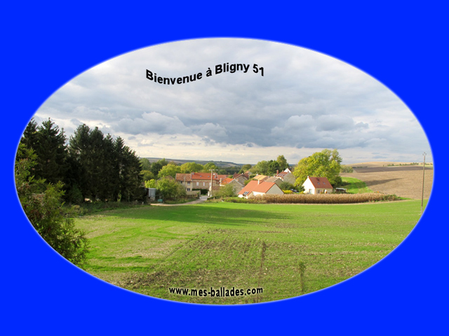 Le village de bligny dans la marne 51170 for Plan de la marne 51