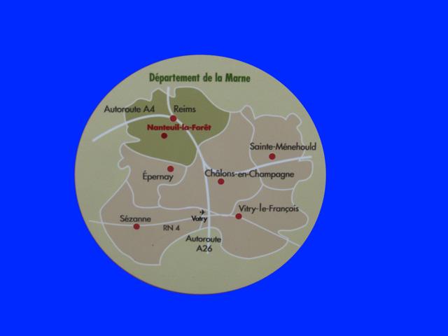 Nanteuil la foret 51480 dans la marne for Plan de la marne 51
