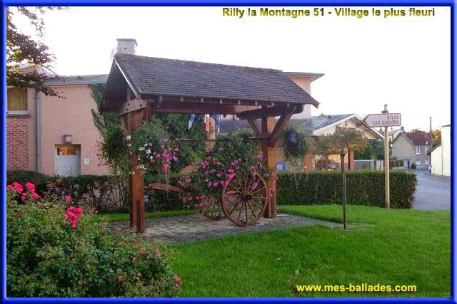 le village et chateau de rilly la montagne 51. Black Bedroom Furniture Sets. Home Design Ideas