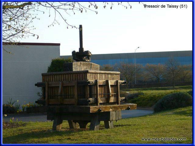 Taissy France  city photos : Comme tous villages champenois, Taissy a gardé son ancien pressoir ...