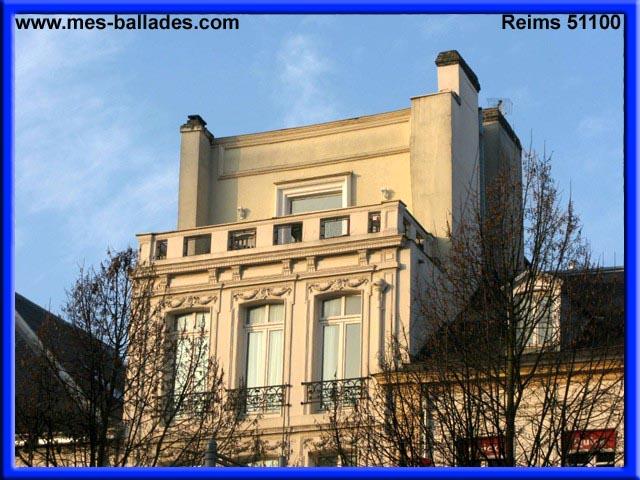 Reims et son architecture 51100 for Architecture et son