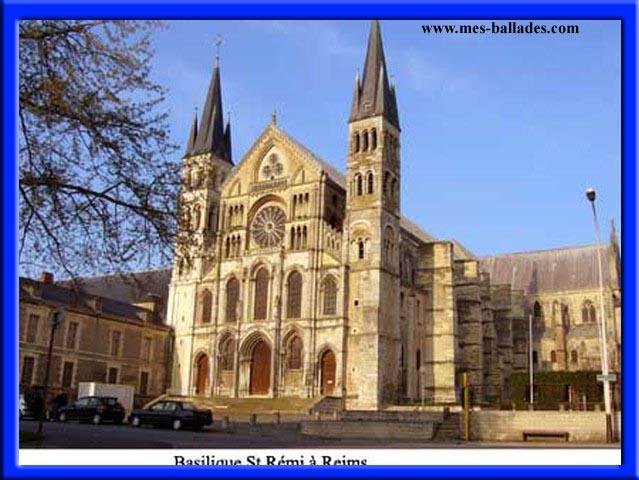 La basilique saint remi a reims dans la marne 51100 - Basilique st remi reims ...