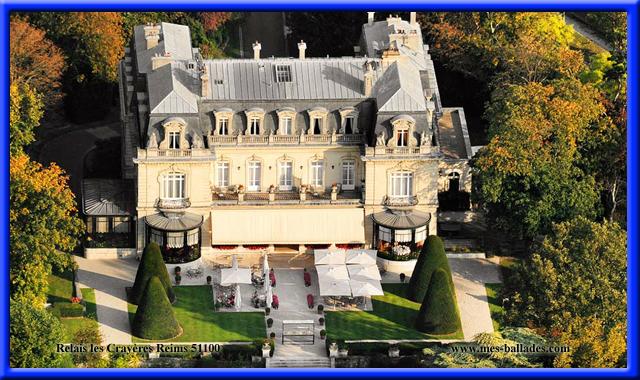 Le chateau des crayeres a reims 51100 h tel restaurant de standing - Le jardin des crayeres reims ...