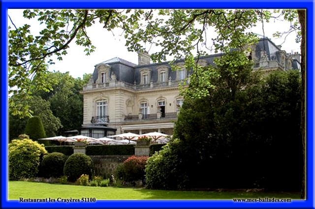Ou se restaurer a reims et environs 51100 - Restaurant le jardin reims crayeres ...