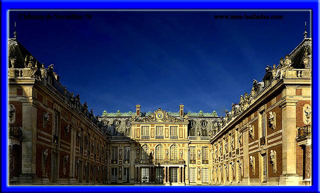 le chateau de versailles a versaille 78000