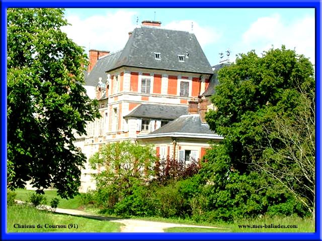 le chateau de courson a courson monteloup 91680. Black Bedroom Furniture Sets. Home Design Ideas