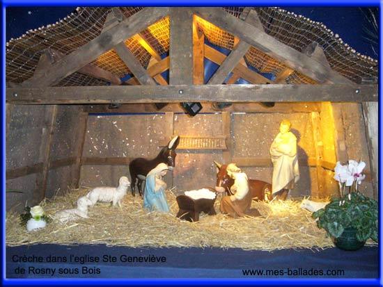 Visite a rosny sous bois 93110 en seine saint denis - Modele de creche de noel en bois ...